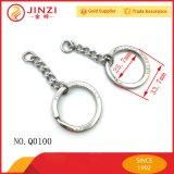 Никель-металл ключ не запрограммирован Кольцо цепочки ключей и выбитые логотип