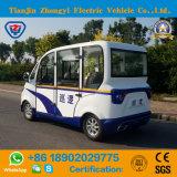 Carro de patrulha incluido elétrico dos assentos de Zhongyi 4 para patrulhar