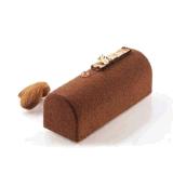 Desserts de chocolat de silicones de forme de barre de trous de la norme 12 de FDA, crême glacée, gâteaux, moulages de fabrication de savon