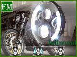 4.5 인치 - Harley를 위한 높은 낮은 광속 Fatbob 이중 Headlamp