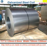 Z100g galvanizó la bobina de acero de acero de Coil/Gi para la aplicación del material para techos