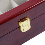 Cassa di lusso di legno dei monili del contenitore di regalo della cassa del contenitore di vigilanza di 3 griglie