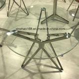 Tavolino da salotto di vetro bianco di alta qualità moderna alto