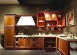 De nieuwe Moderne Kast van de Keukenkast van het Ontwerp Glanzende Houten