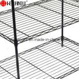 Material 6 Prateleira de aço preto ajustável prateleiras de armazenagem venda quente de rack para a África do Sul
