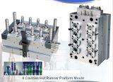 12 cavidades do molde de injeção de preformas PET de plástico