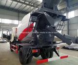 Foton 4X2 3개 입방 미터 구체적인 드럼 롤러 믹서 트럭