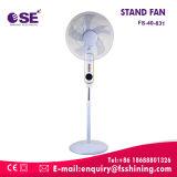 Standplatz-Ventilator der Haushaltsgerät-220V mit Schaufel 5as (FS-40-831)