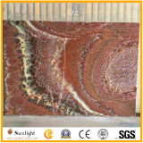 Onyx rouge pour le mur intérieur de fond, tuiles d'Onyx/couleurs d'Onyx