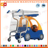 슈퍼마켓 장난감 차 (Zht53)를 가진 플라스틱 쇼핑 카트