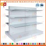 Il doppio ha parteggiato mensola del supermercato del metallo per l'unità della scaffalatura della memoria (Zhs9)