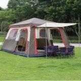 Les tentes de dôme de tissu d'étage de PE de toile pour le famille imperméabilisent camper extérieur