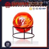 O ABC datilografa a esfera do extintor de incêndio