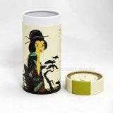 Latas movibles modificadas para requisitos particulares del papel de alineación de la hoja de la tapa del metal que empaquetan para el té