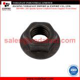 Haute résistance de l'écrou à embase hexagonale en acier ordinaire