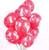 De vrolijke Ballons van het Latex van Kerstmis de Ballons van 10 Duim voor Rood en de Groene Decoratie van Kerstmis van het Festival, Pak 100PCS