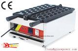 Noyer numérique commerciale Gaufrier Making Machine fer