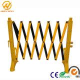 Barriera di plastica ritrattabile della costruzione di sicurezza stradale dell'iniezione del PVC