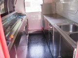 Precio disponible del diseño del carro del Crepe del acoplado del alimento del vario color