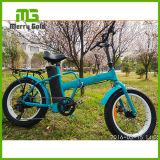 """20 """" [48ف] [500و] يطوي سمين إطار العجلة شاطئ ثلج درّاجة كهربائيّة"""