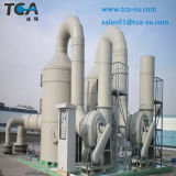 Depurador de gases de fibra de vidrio de la torre de purificación para la gestión de residuos