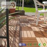 WPC DIY Plattform deckt zusammengesetzter Decking-im Freienbodenbelag mit Ziegeln