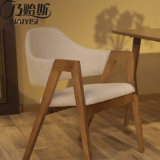 Workwellの木の食事の椅子、標準的な食事の椅子、夕食の椅子D23