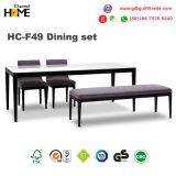 Projeto moderno da base do sofá do canto da madeira contínua (HC-F52B)
