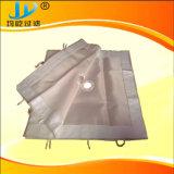 1 micrones aguja Nonwoven fieltro tela del filtro de polipropileno perforada.