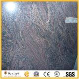 La piedra natural multicolor de losas de granito rojo de granito y la pavimentación/Tombstone