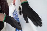 PU с покрытием черного цвета перчатки размер 8