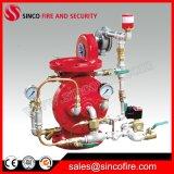 Válvula do dilúvio do alarme de incêndio para o sistema do dilúvio