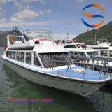 barco de pasajero del 18m China con la carrocería del barco de la fibra de vidrio
