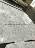 Laje de mármore branca por atacado de China Bianco Carrara para a telha e a bancada