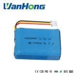 3.7V Li-IonenBatterij 104058pl 5800mAh van de Lamp van de Mijnwerker