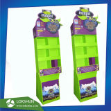 El pop de cartón comercial Expositor de suelo, con bolsillos adecuados para regalos, China cartón Fabricante de pantalla