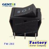 interruptor de eje de balancín de los contactos de la posición 6 de 16A 250VAC T125 3