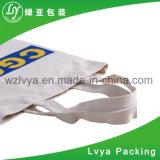 卸し売り昇進の安い価格のカスタムロゴデザインScoolの綿のキャンバス袋