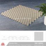Mosaico de cerámica de material de construcción de piscina mosaico (VMC19M002, 310x315mm+D19X6mm)