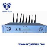 高い発電8のアンテナ16W 3G 4G携帯電話のWiFiの妨害機(冷却ファンと)
