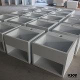 新しいモデルデザインアクリルの固体表面の壁は洗面器をハングさせた