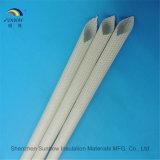 Hars van het Silicone van de glasvezel de Sleeving Met een laag bedekte