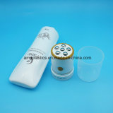 Novo produto cosmético de plástico do rolo de massagem vibratória Tubo de Esferas