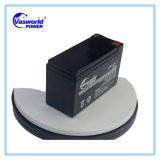 Батарея UPS поставщика 12V 7ah 7.5 Катара Ah для компьютера