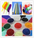 Azul/verde/amarillo/blanco/negro el color Masterbatch para caja de plástico