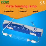 1 lámpara ULTRAVIOLETA ultravioleta de la lámpara de la placa de Kw2kw3kw del yodo de la lámpara ardiente del galio