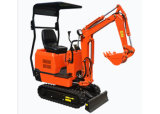 Mini excavatrice 800kg de construction lourde