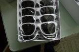 Promoção lâmpada UV400 Logotipo personalizado plástico unissexo Fashion óculos de sol