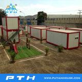 Vorfabriziertes 20FT Standard-Behälter-Haus für modulares Hauptgebäude