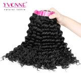 Weave человеческих волос Remy девственницы волны верхнего качества бразильский глубокий